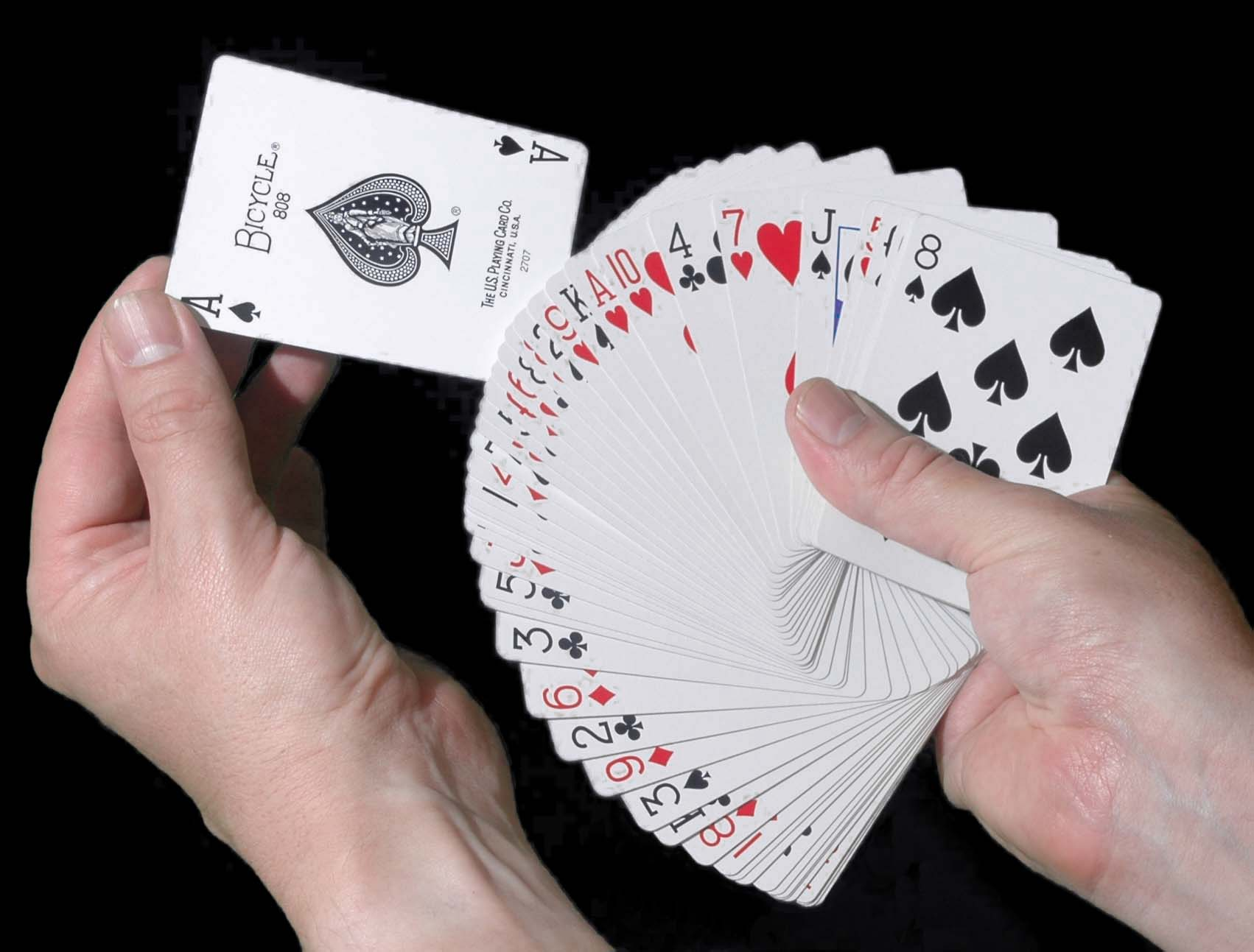 How to do magic with poker cards drugs to treat gambling addiction