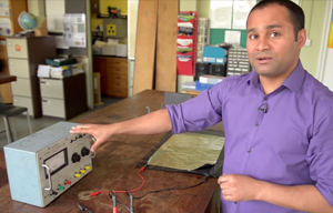 How to make a capacitor